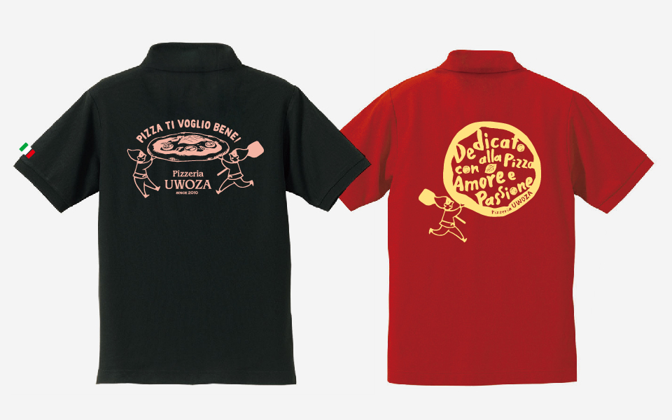 テイクアウトチラシ/ポロシャツ